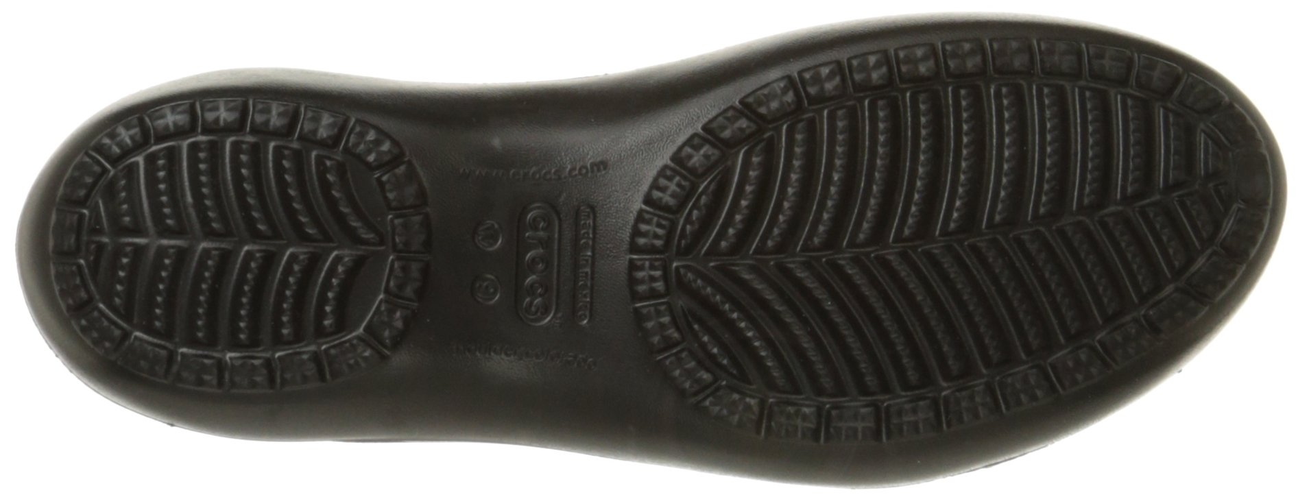 Crocs Women's Kadee Ballet Flat,Black/Black,8 M US by Crocs (Image #3)