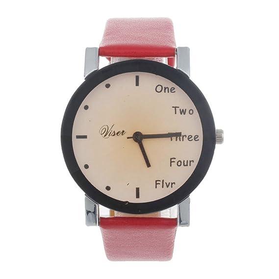 Para mujer Relojes de cuarzo con mundos, Cooki Unique analógico Fashion limpieza Lady relojes relojes