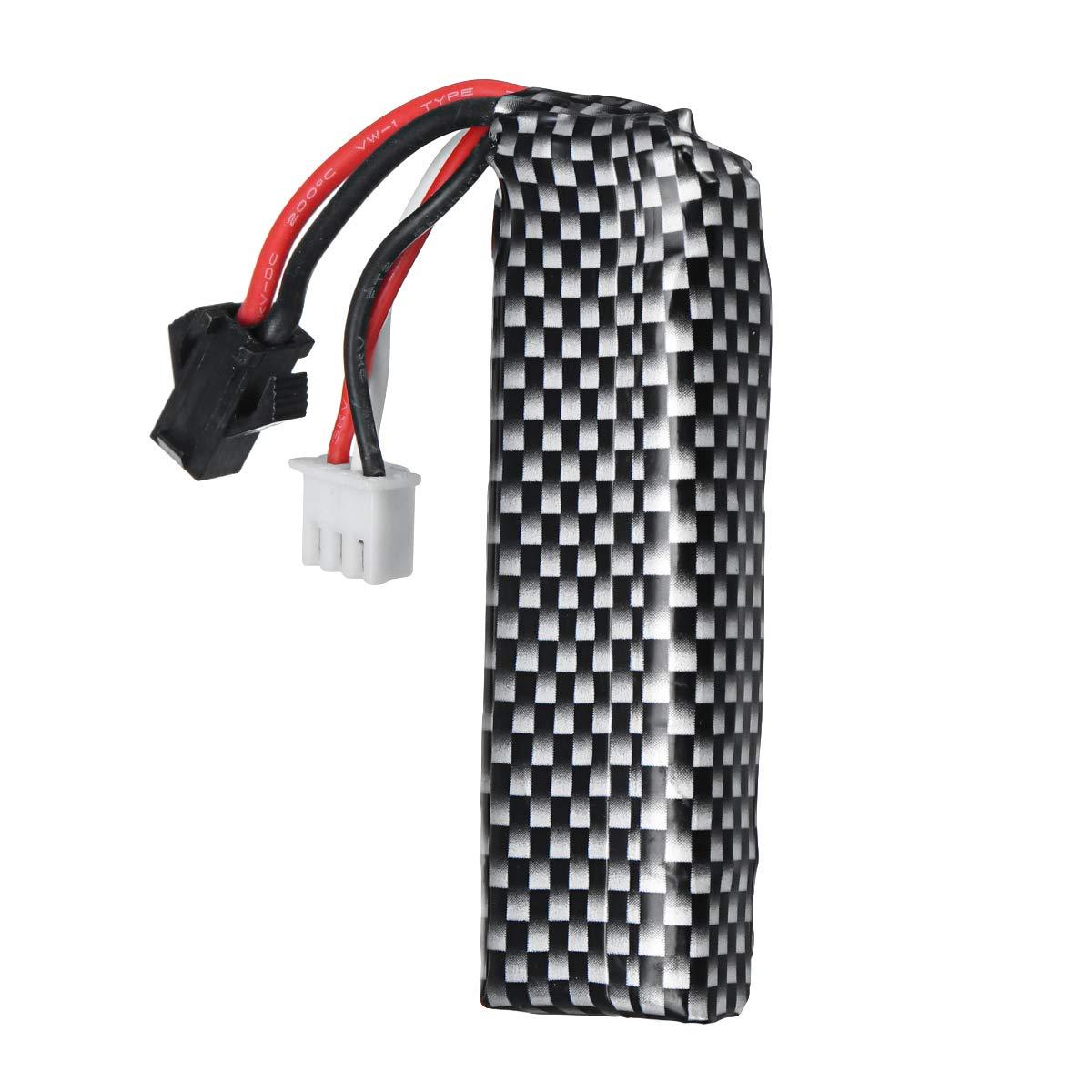 Forspero Mise /À Niveau 1400Mah 7.4 V 25C Batterie Au Lithium pour Blaster STD Gel Ball