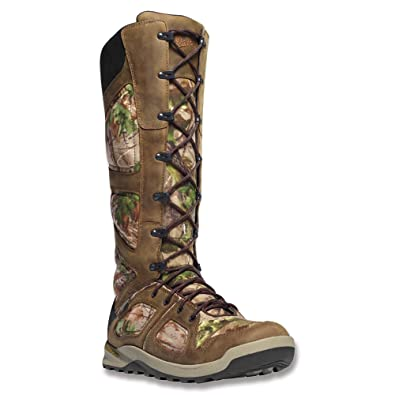 caec61c969b Danner Men s Steadfast Snake Boot 17-Inch Realtree Xtra Green 5 D