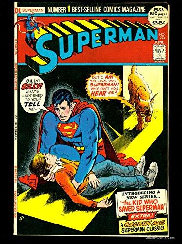Superman #253 NM 9.4 Tongie Farm Collection Pedigree