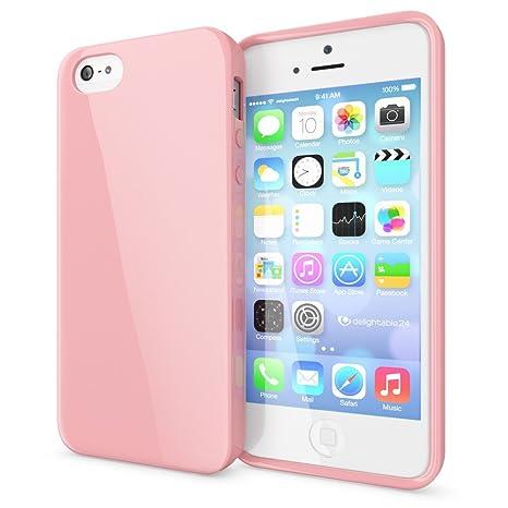 00da0908558 NALIA Funda Compatible con iPhone SE 5 5S, Ultra-Fina Gel Protectora Movil  Carcasa