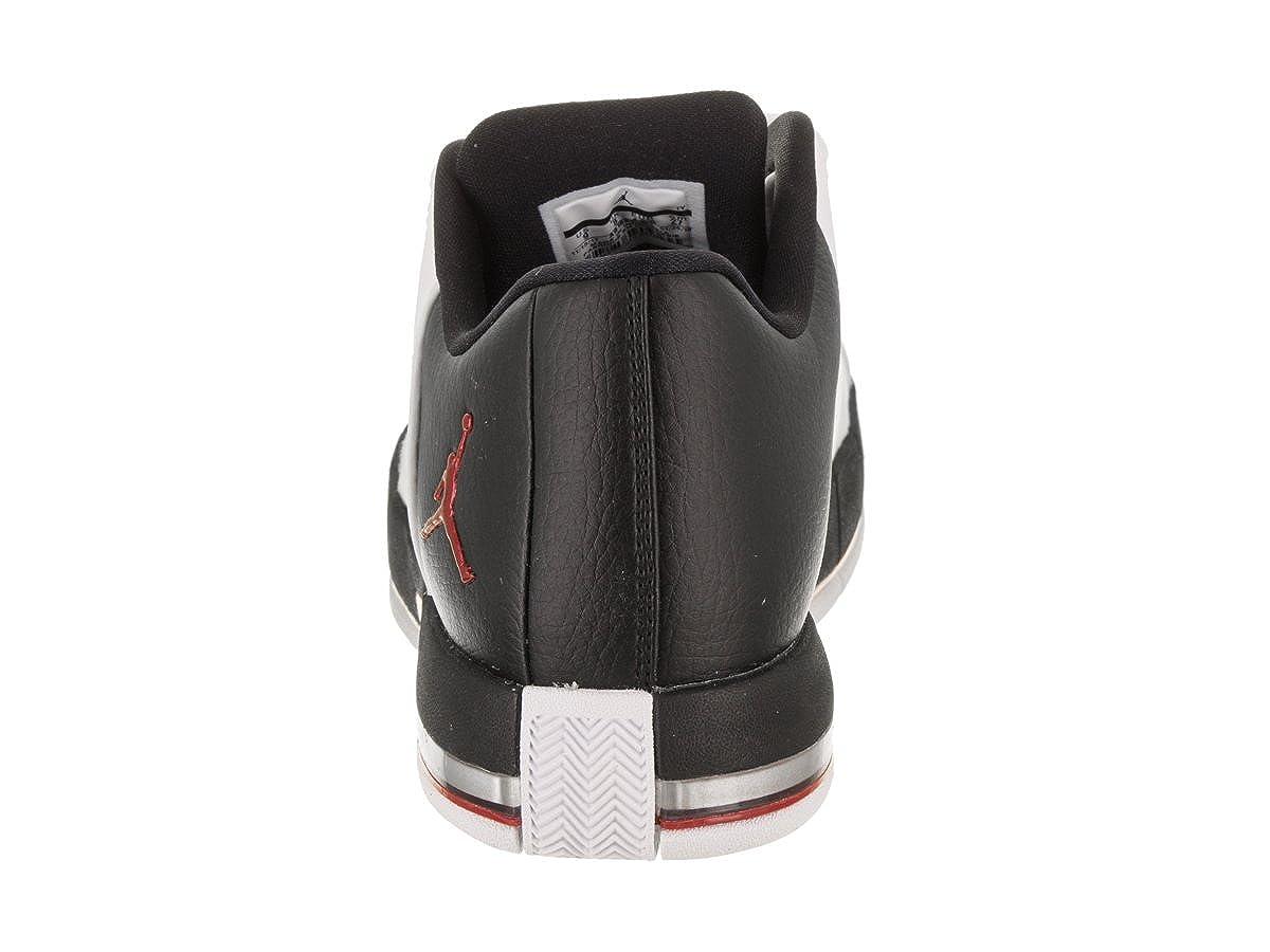 best loved 66028 6a02a Amazon.com   Jordan AO1696-101  Team Elite 2 Low Men s White Black-Gym Red-White  Sneaker (8 D(M) US)   Basketball