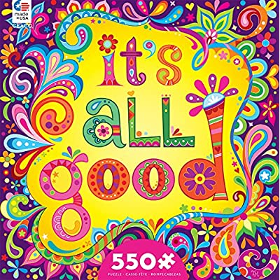 Ceaco - It's All Good - Jigsaw Puzzle by Thaneeya McArdle – 550 Pieces: Toys & Games
