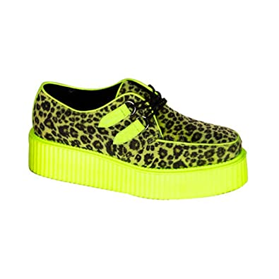 7a976c24e85ca 2 Inch Mens Platform Shoe Zebra Cheetah Veggie Creeper Shoes Size: 8  Colors: ...