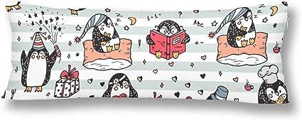 CiCiDi Seitenschl/äferkissen Kissen-Bezug 40x145 cm Dahlie Pinnata Flower Pink Atmungsaktives Kissenh/üllen mit Rei/ßverschluss Baumwollen und Polyester