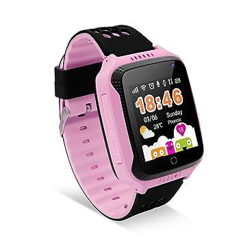 Diggro Smartwatch Llamada Anti-Lost Sos 1.44 Inch GPS Touch Kids Tracker Smart Watch con Camera 2G SIM Remote Niños Seguridad Monitor Salud Helper ...