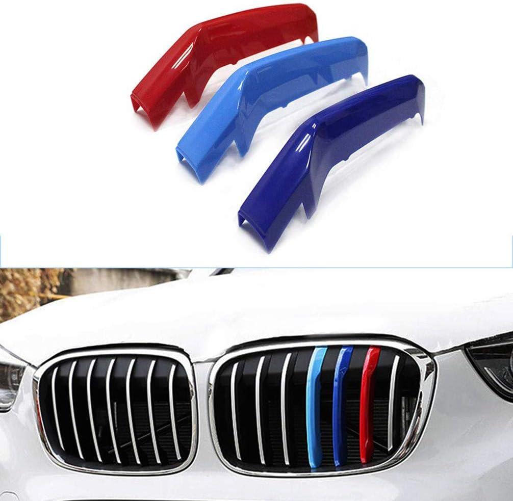 JNXZHQC 1 Paio di Griglie per Rene paraurti Anteriore in Fibra di Carbonio Colore Nero Lucido M a 1 Linea./per BMW F18 F10 F11 Serie 5 2010 2014 2015 2016 griglia