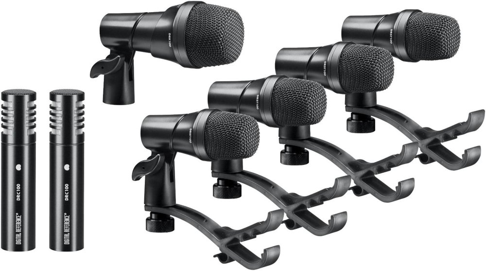Digital Reference DRDK7 7-Piece Drum Mic Kit by Digital Reference