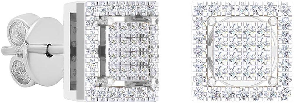 Dazzlingrock Collection Ranking TOP6 Round White Shaped Square Under blast sales Diamond Ladies