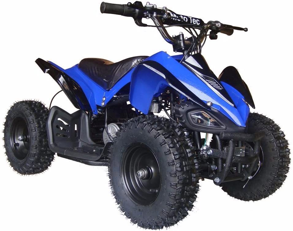 MotoTec 24v Kids ATV v2 in Blue