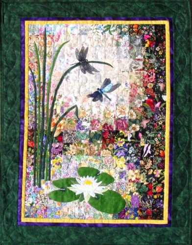 - Whims Watercolor Quilt Kits Dragonflies and Lilypads Quilting Supplies