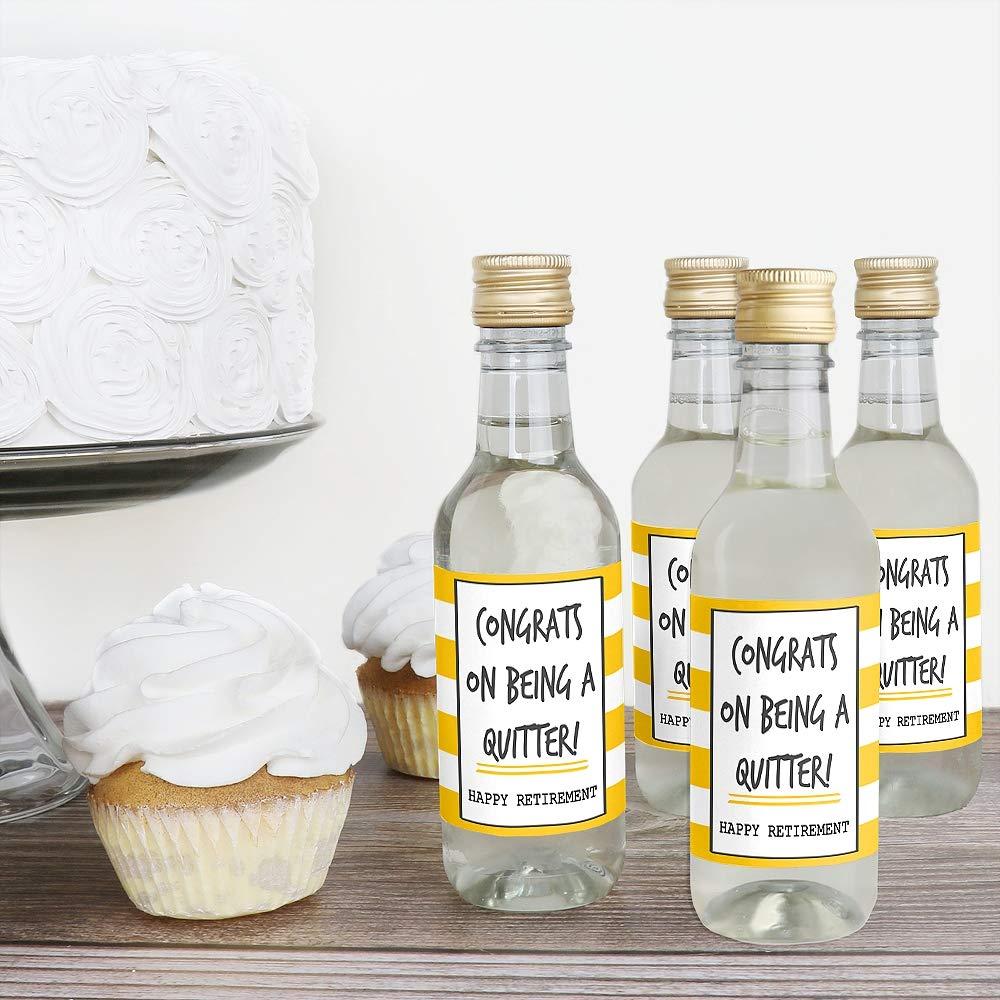 Pegatinas de etiquetas para botella de vino y champán de Retision, juego de 24: Amazon.es: Hogar