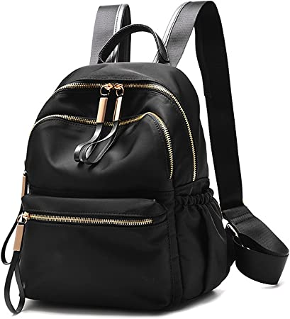 OIWAS Small Backpack Women/'s Casual Daypack Anti Theft Waterproof Travel Black
