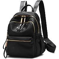 Wraifa Waterproof Oxford PU Leather Small Backpack Purse for Women School Bag for Girls