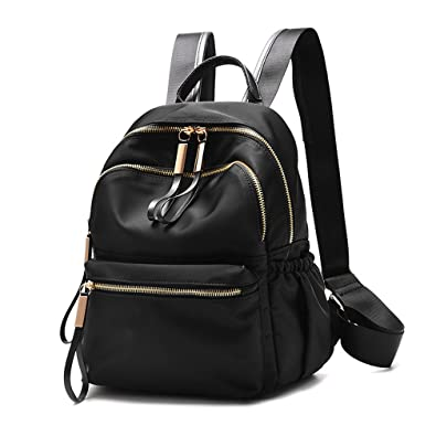 Amazon.com: Wraifa Waterproof Oxford Small Backpack Purse for ...