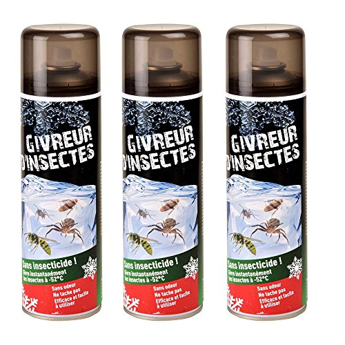 Givreur anti-insectes Lot de 3 X 400ML