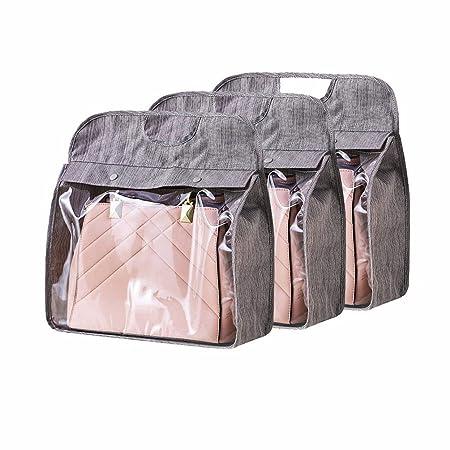 3c7df278d2da Hershii Handbag Storage Dust-proof Cover Hanging Wardrobe Closet ...
