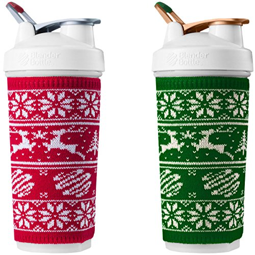 BlenderBottle Special Edition 28 oz. Shaker Bottle DUO Peppermint & Pine 2 Pack