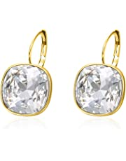 Xuping Fashion Beautiful Halloween Huggies Hoop Earrings Crystals from Swarovski Women Girl Jewelry Cyber Monday Prime Day Deal Gifts