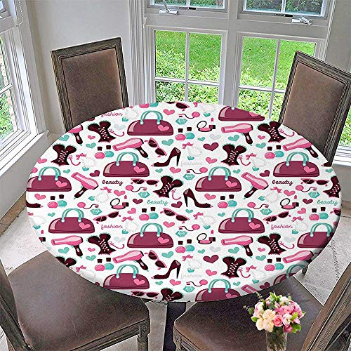 Mikihome The Round Table Cloth Primary Girl Objects