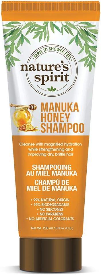 Natures Spirit Champú Manuka Honey 235 ml: Amazon.es: Belleza