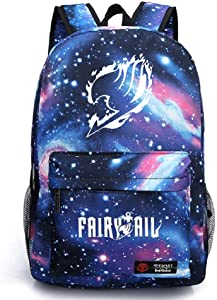 Siawasey Anime Fairy Tail Cosplay Backpack Daypack Bookbag Laptop School Bag