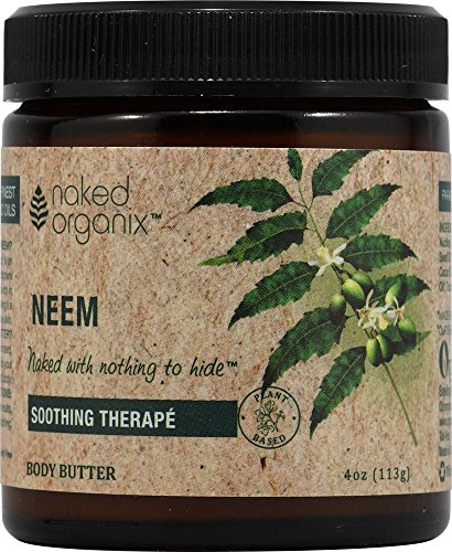 Naked Organix-Neem Body Butter Organix South 4 oz Cream