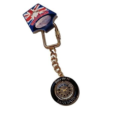 Amazon.com: Big Ben llavero de metal spinner llavero/London ...