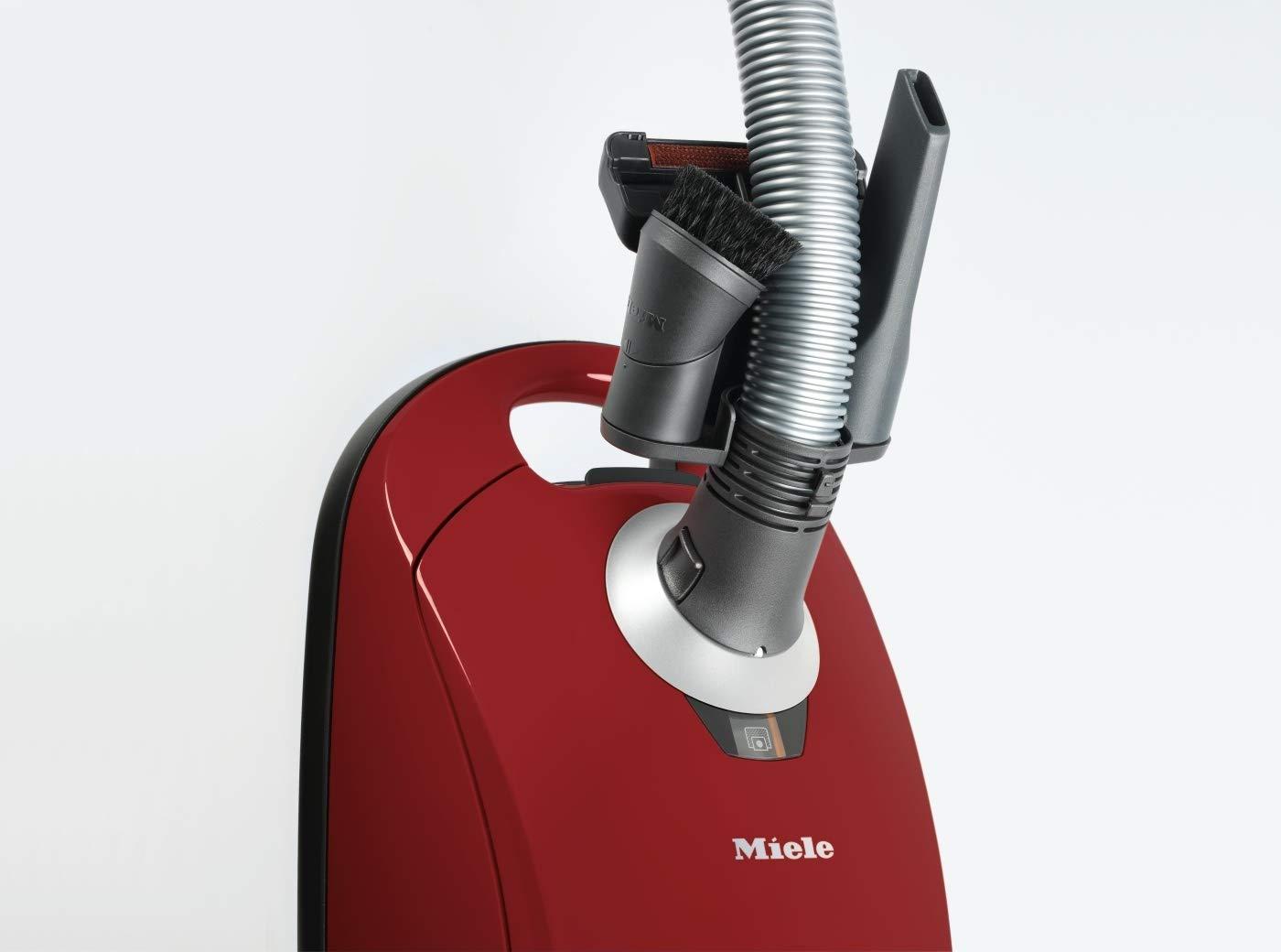 550 Watt, 3,5 Liter Beutelvolumen Miele Compact C1 EcoLine Bodenstaubsauger rot