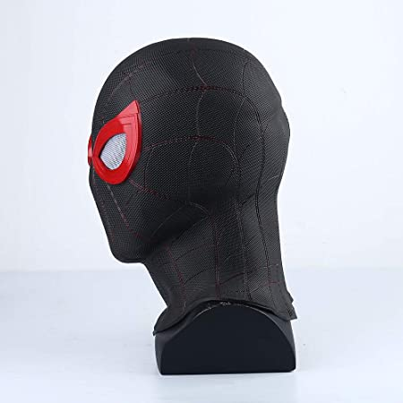 YK Spider-Man: Far from Home Mask Head Cover Black Mask Shadow ...
