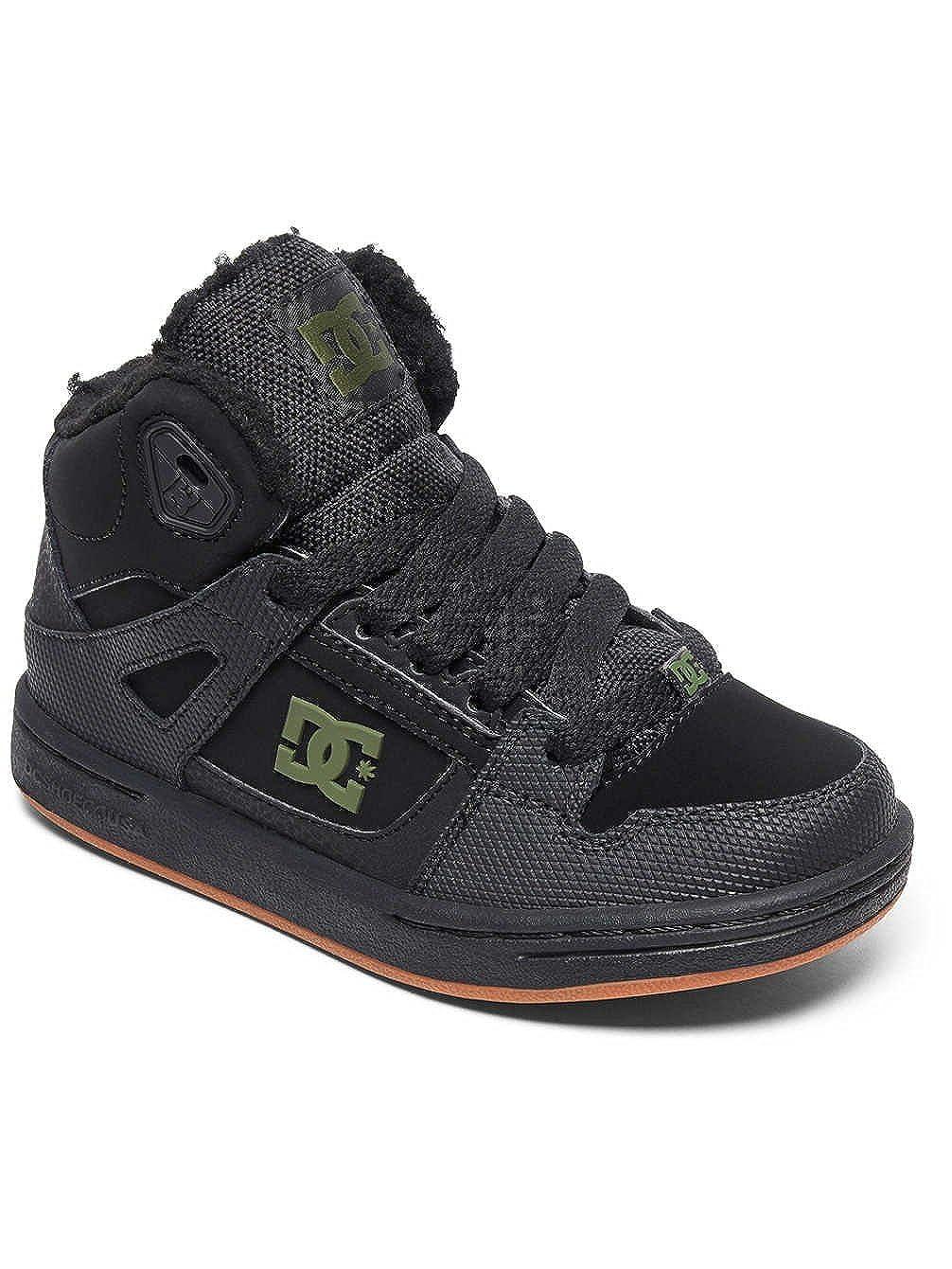 DC Pure HT WNT Kids Black//Black//Green