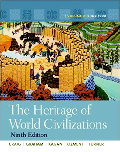 Amazon the heritage of world civilizations volume 2 9th amazon the heritage of world civilizations volume 2 9th edition 9780205803477 albert m craig william a graham donald m kagan steven ozment fandeluxe Choice Image