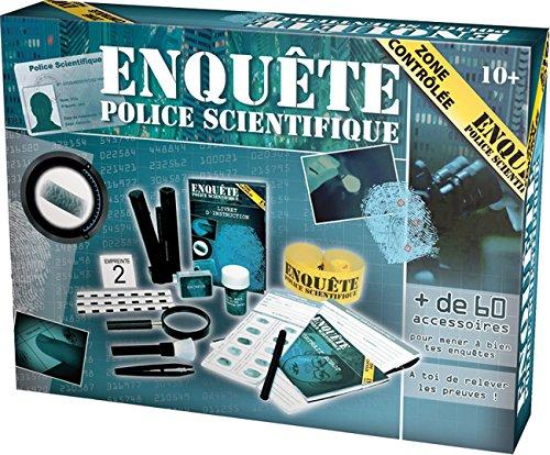 Enquete police scientifique - kit de jeu scientifique