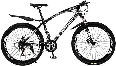 JLASD Bicicleta Montaña Hombres MTB/Mujeres Bicicletas, Suspensión ...