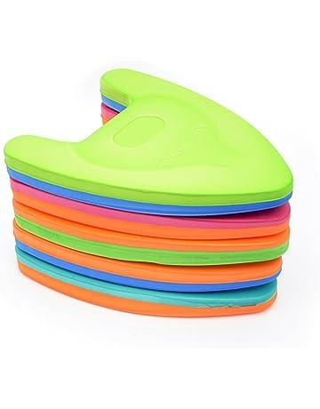Chen0-Super - Tabla de natación flotante de espuma con asas para niños y adultos