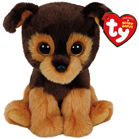 Amazon.com  Ty Beanie Babies Tucker The Brown Dog Plush  Toys   Games 3a4579be72c