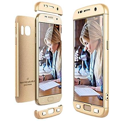 Amazon.com: Carcasa rígida para Samsung Galaxy S6/S6 Edge, 3 ...