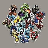 Santa Cruz Screaming Hand Skateboard Stickers