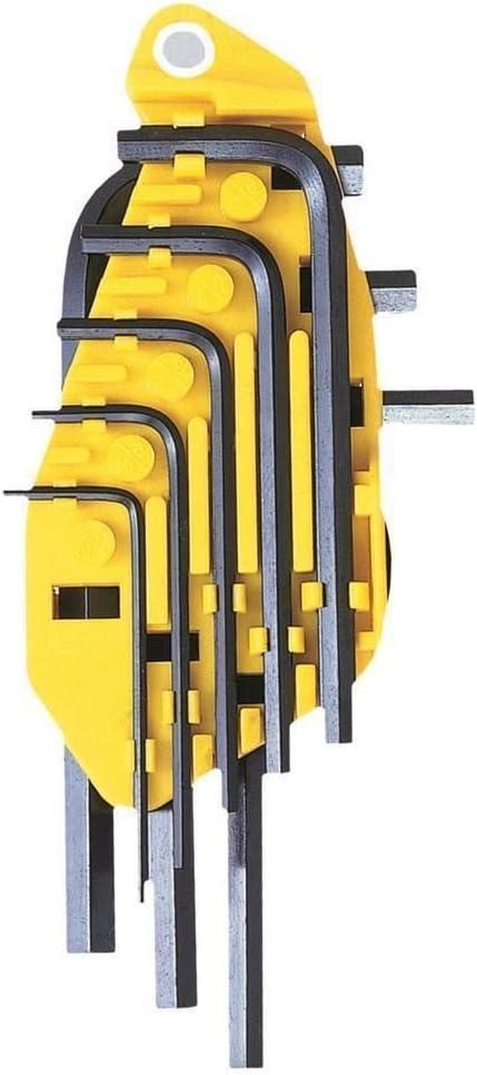 Stanley Hex Key Set Imperial 1//16-1//4In
