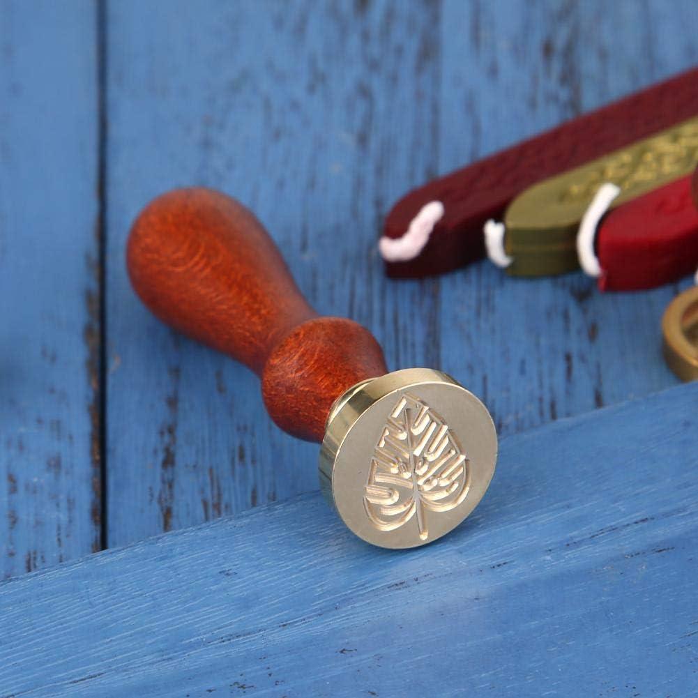 Everpart Cachet de Cire Mariage Sceau Timbre de Cire /à Cacheter Bar M/èche Artisanat D/écor Ancien B/âton d/époque Vintage Courrier Cadeaux de Anniversaire No/ël Style 5