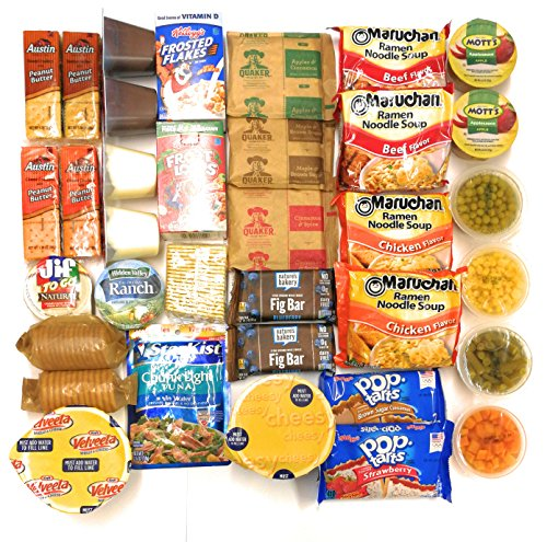 Ultimate Survival Kits Snack Care Package for College Students, Military, Friends (Ultimate Meal-On-The-Run)