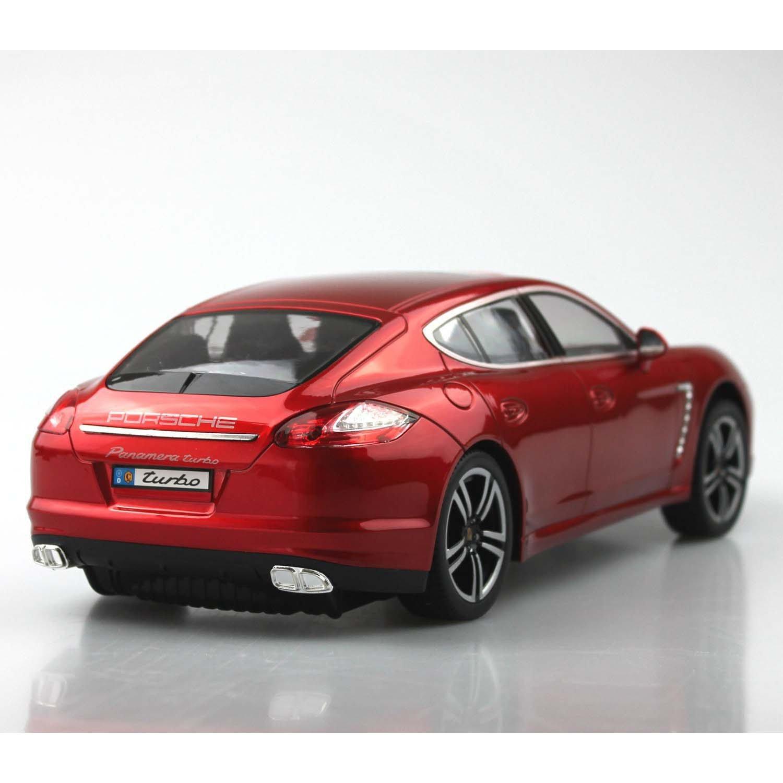 MultiStore 2002 Coche teledirigido Porsche Panamera Turbo S 1: 14 Rojo Modelo Modelo de Coche vehículo con iluminación de Control Remoto RC: Amazon.es: ...