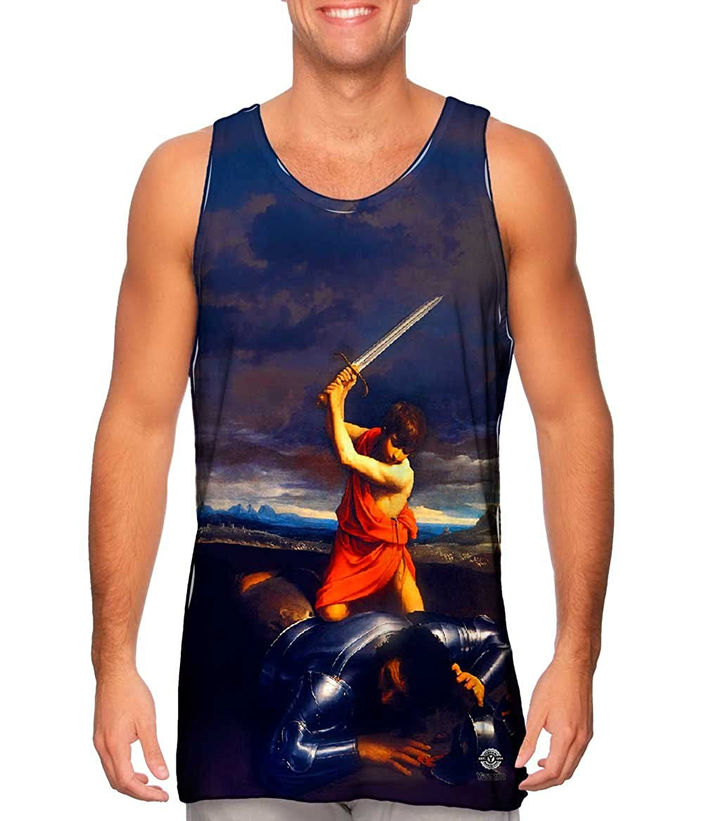 -Tshirt- Mens Tank Top 1610 David and Goliath Yizzam- Guido Reni