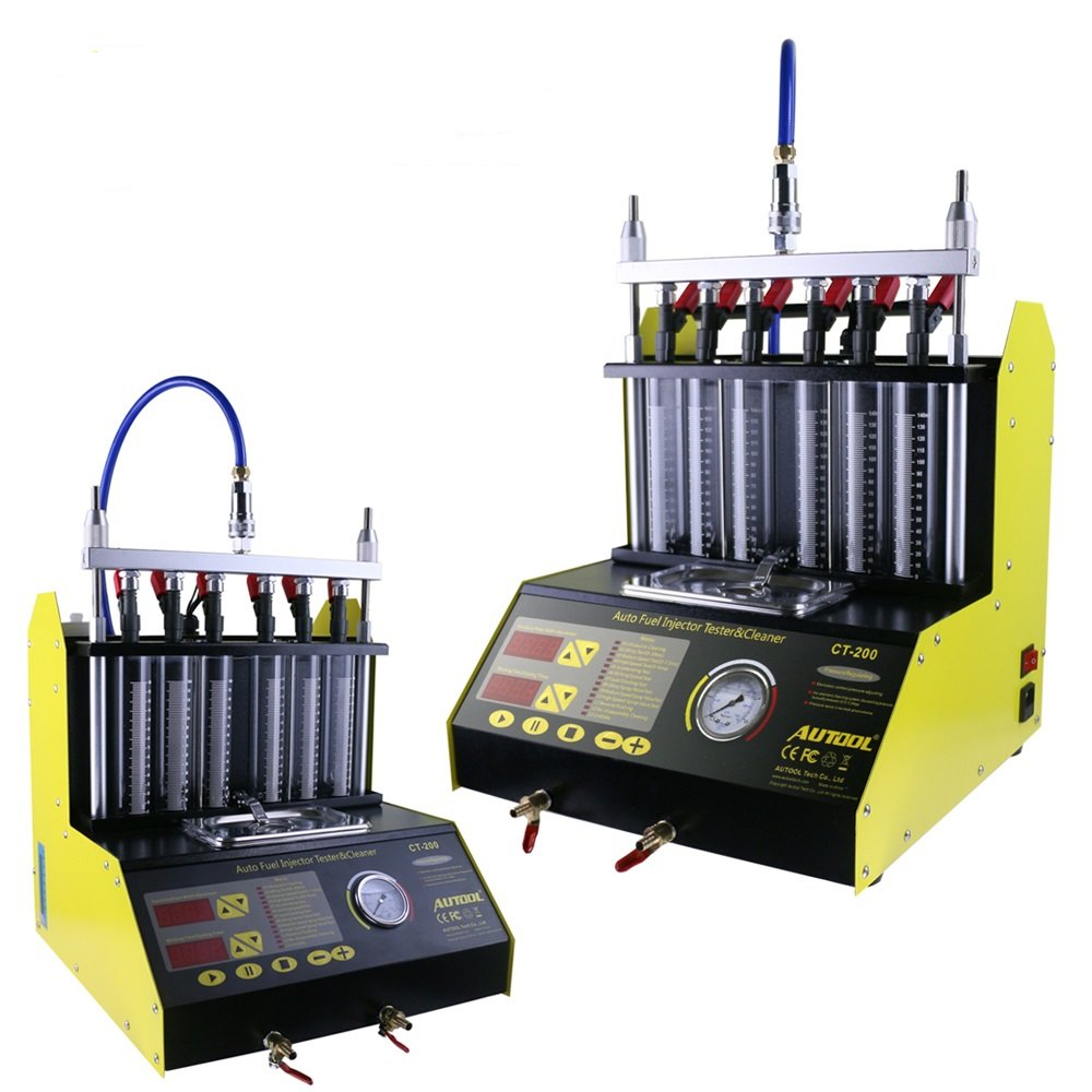 Autool CT-200 Automotive Fuel Injection Systems Cleaning Tools CT200 Fuel Injector Cleaner and Tester 110V Automotive Fuel Injection Systems Cleaning Tools