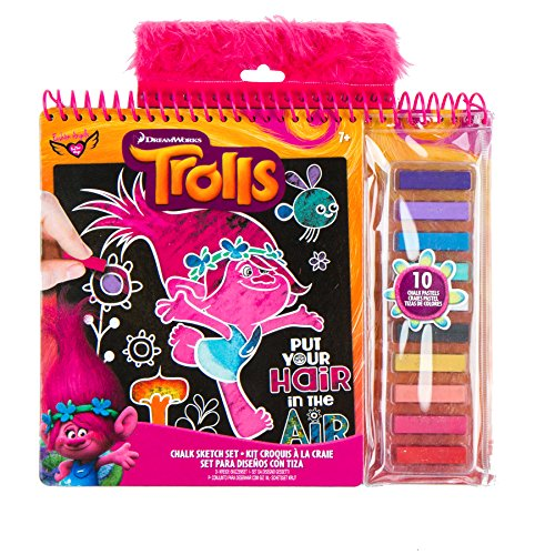 Trolls Chalk Sketch Set