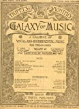 img - for Antique Music Journal: TRIFET'S MONTHLY GALAXY OF MUSIC, A Magazine of Vocal and Instrumental Music for the Masses, Volume VI, April, 1892 book / textbook / text book