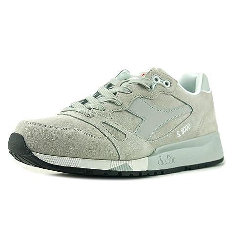 4fc987d2585b8d Diadora S8000 Italia Men US 11.5 Gray Sneakers: Amazon.co.uk: Shoes & Bags