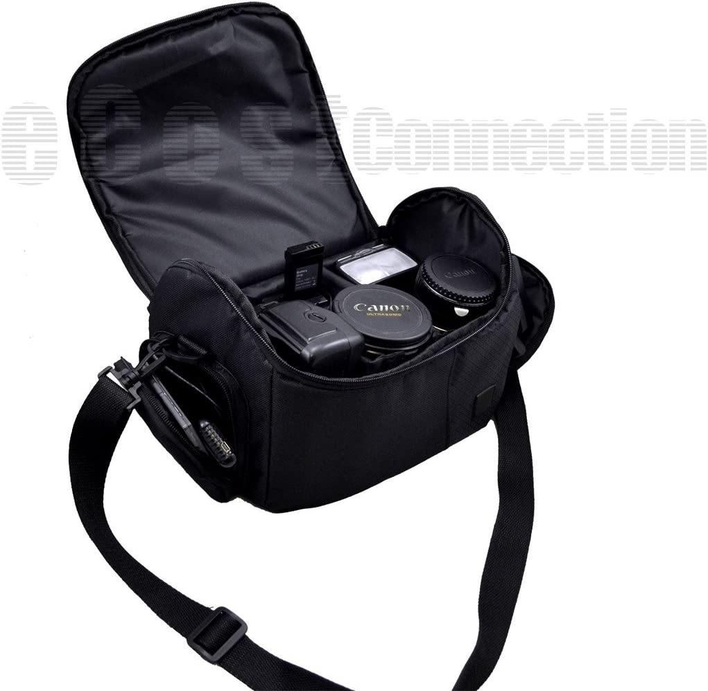 GC-PX100 /& More + Microfiber Cloth GV-LS1 Large Digital Camcorder//Video Padded Carrying Bag//Case For JVC Everio GZ-VX815,GZ-HD520