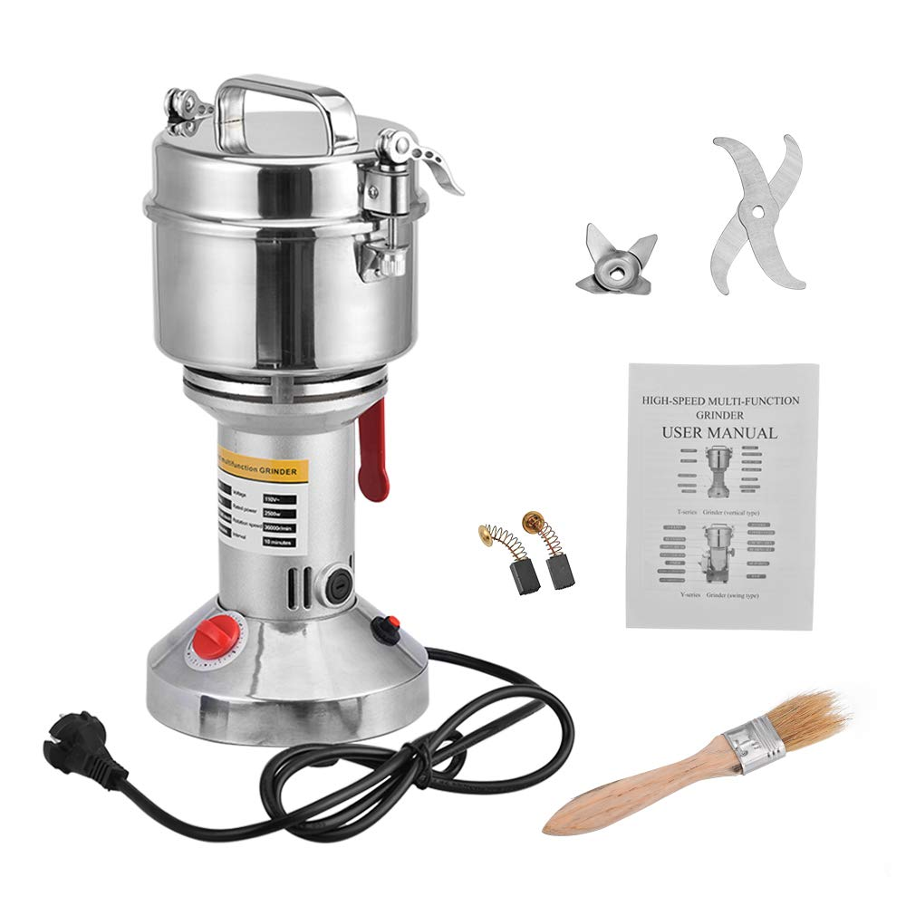 Giraffe-X 700g Electric Herb Grain Spice Grinder Cereal Mill Grinder Flour Powder Machine,Portable High Speed by Giraffe-X